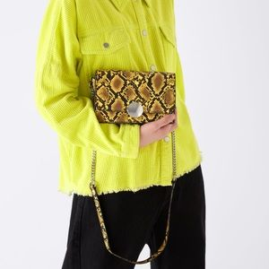 NWT • Zara • Animal Print Crossbody Bag